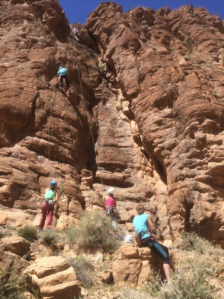 Amassa Climb notre action en exterieur