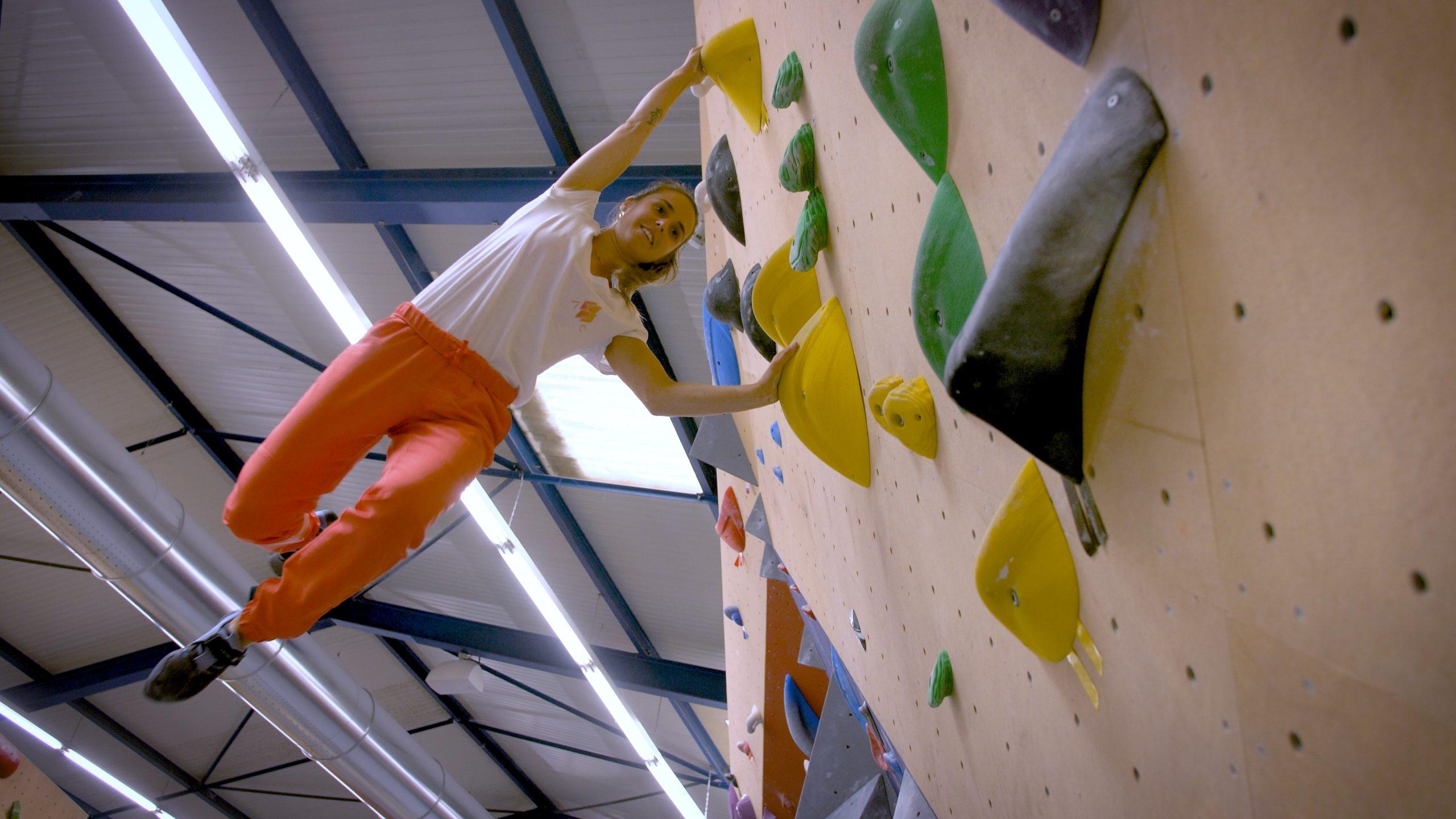 Amassa Climb notre action en salle